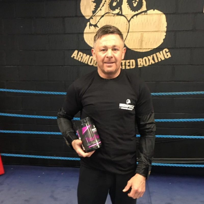 Johnny Armour Undisputed Champion Nutrition